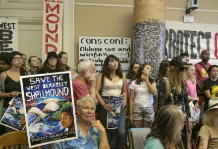 Hundreds Flood Berkeley City Council Meeting in Support of the Shellmound