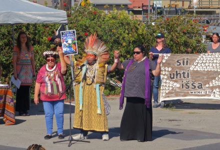 Standing on this land together: July 4th ceremony & discussion